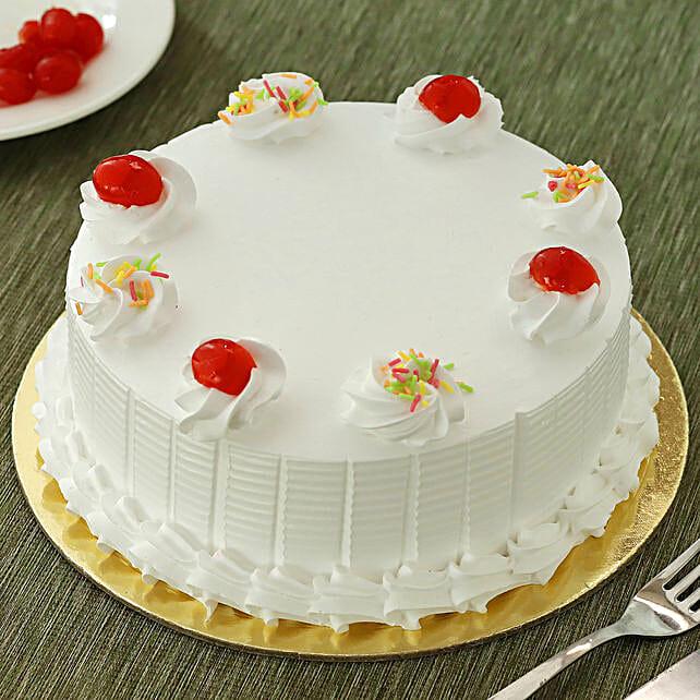 Vanilla Cakes Half kg Eggless