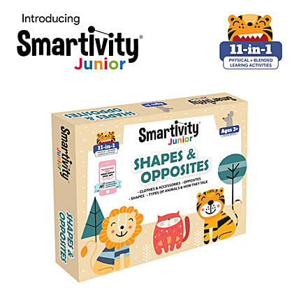 Smartivity Junior Shapes And Opposites Pre School Kit