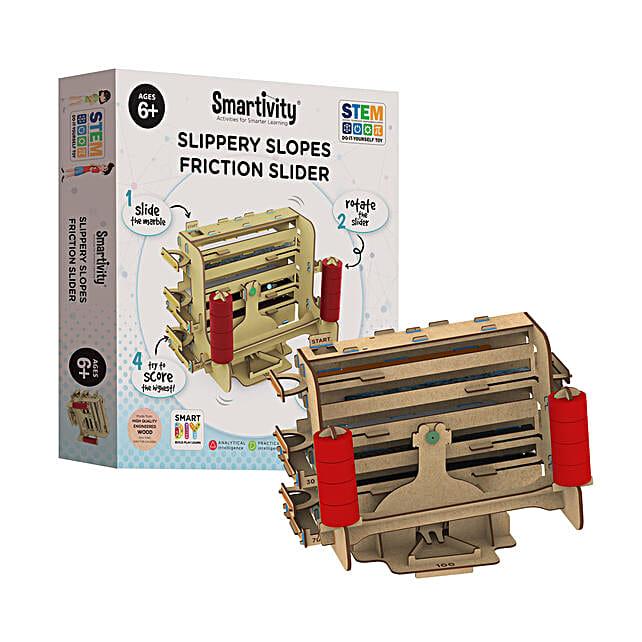 Smartivity Slippery Slopes Friction Slider Game Kit