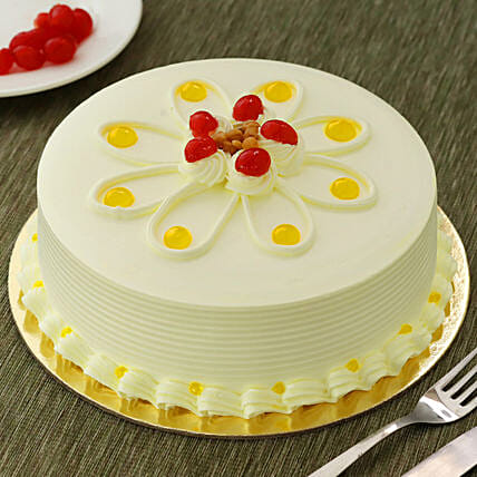Butterscotch Cakes Half kg Eggless:Birthday Cakes Aurangabad