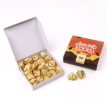 Binge Bites Chocolate Almond Rocks