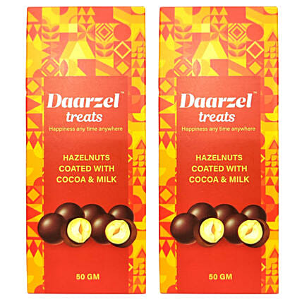 Daarzel Treats Hazelnuts Nutties