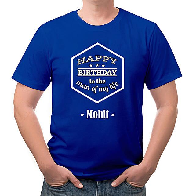 Birthday Personalised Cotton T shirt