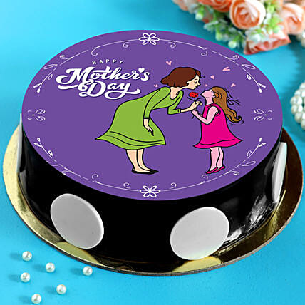 Mothers Day Special Chocolate Cake Half Kg