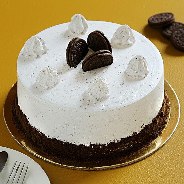 Tasty Oreo Cream Cake
