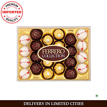 Ferrero Rocher T24x4 Collection:Imported Chocolates
