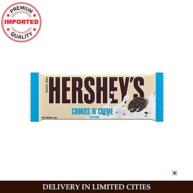 Hershey Cookies n Creme Bar:Imported Chocolates