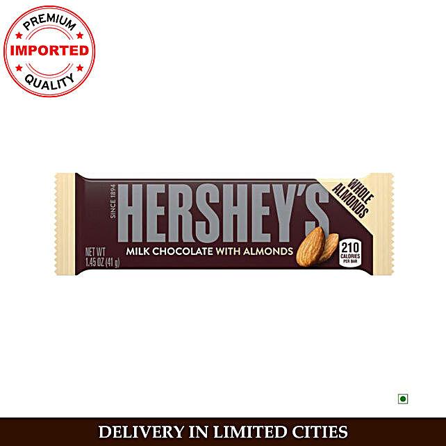 Hershey Milk Chocolate Bar with Almonds