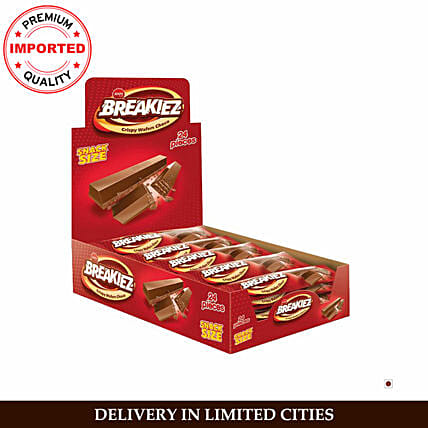 Jouy And Co Breakiez Crispy Wafers Choco Box