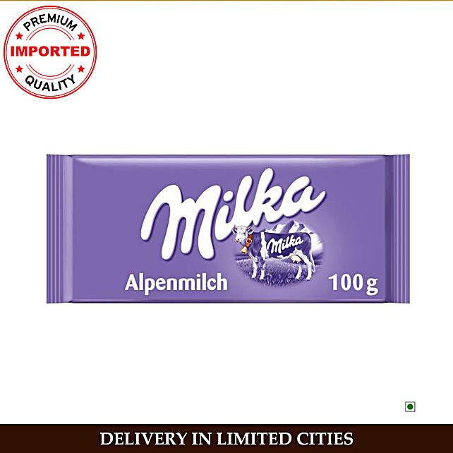 Milka Alpine Milk Bar