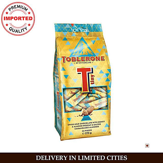 Toblerone Tiny Crunchy Almonds Bag