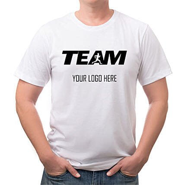 Team Round Neck Personalised T Shirt