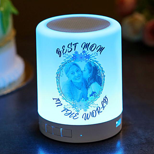 Personalised Best Mom Bluetooth LED Speaker