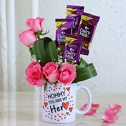 Happy Mothers Day Love Wishes:Roses for Mother's Day