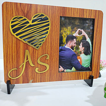 Persoanlised Couple Love Table Top Frame:Thank You Photo Frames