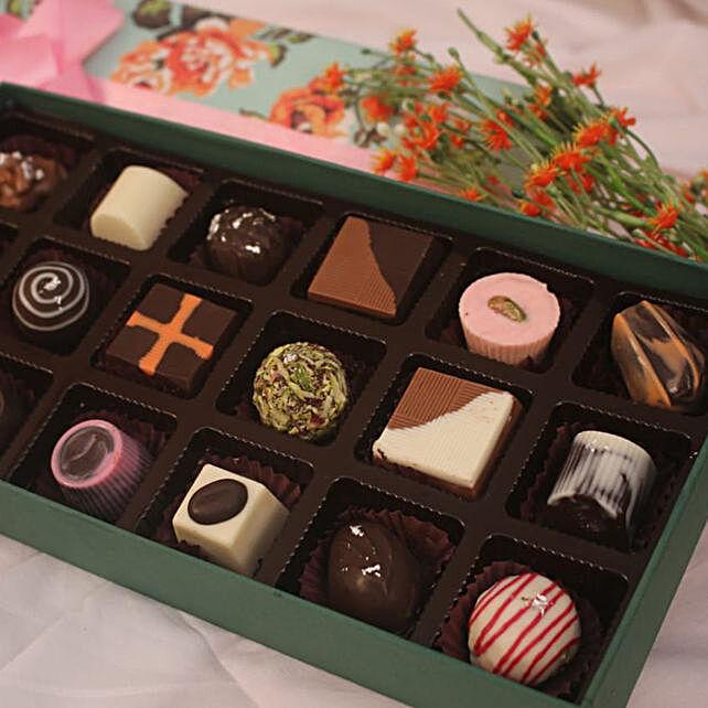 Sweet Floral Chocolates:Fruit Chocolates