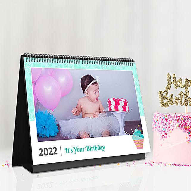 Personalised Happy Birthday Wishes Calendar