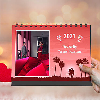 Personalised You Are My Forever Valentine Calendar