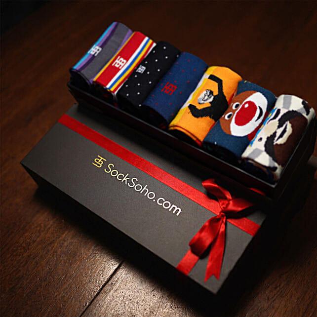 SockSoho Socks Power Gift Box