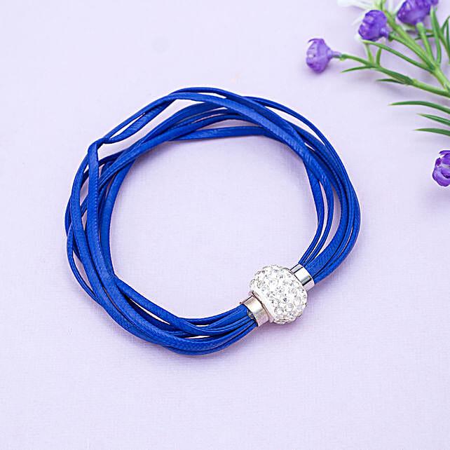 Blue bracelet:Friendship Day Bands