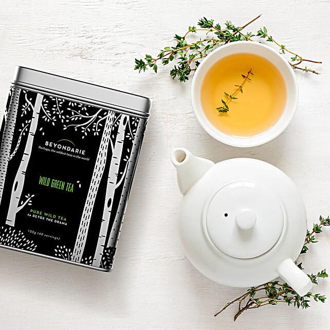Wild Tribe Green Tea 100 Gms:Tea Gift Hampers