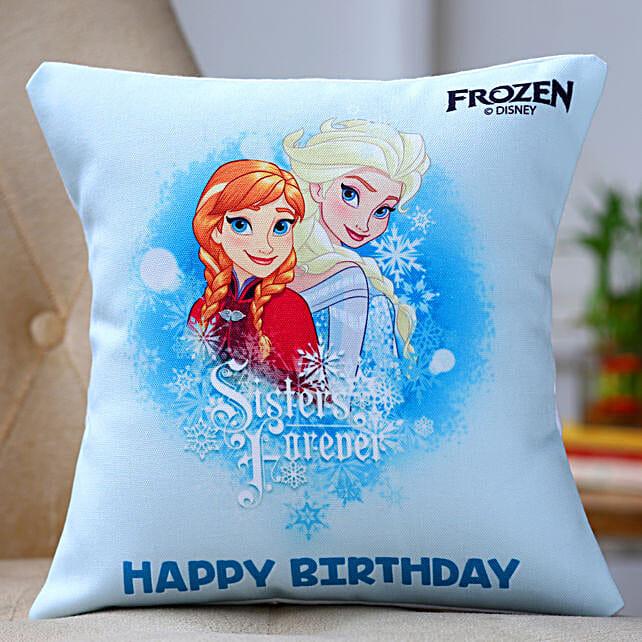 One Printed Cushion