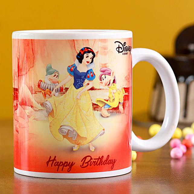 Disney Snow White Birthday Wishes Mug