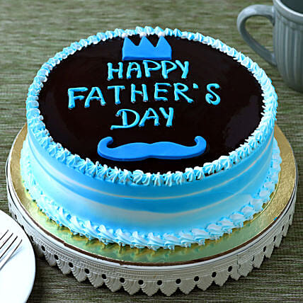 Fathers Day Special Chocolate Cake