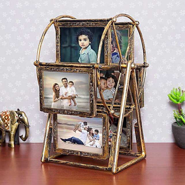 Personalised swing wheel photo frame:Personalised Gifts Haridwar