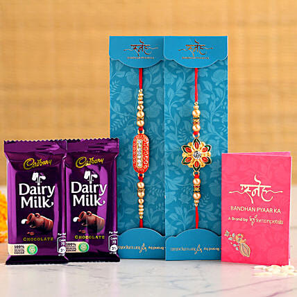 Chocolate and Rakhi Combo For Brother