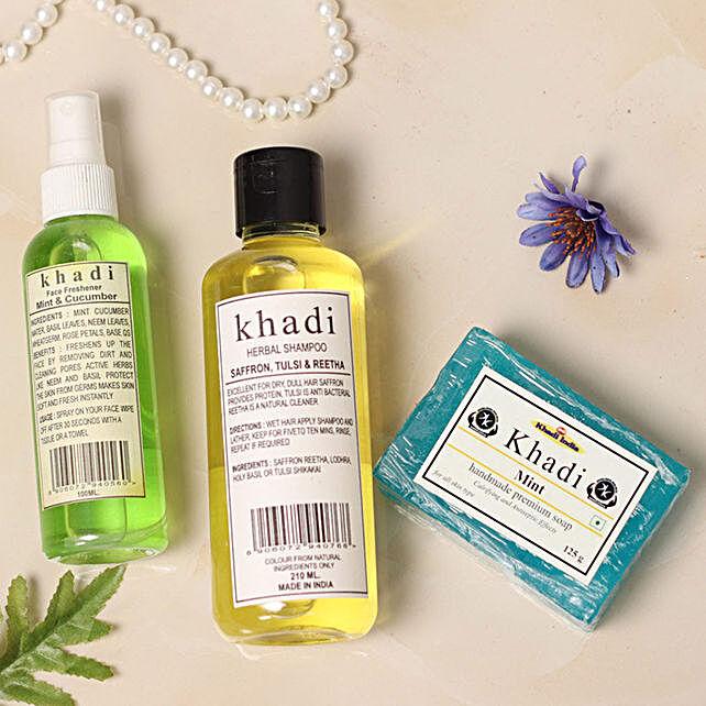 Khadi Mint N Cucumber Combo:Gifts Mall Bestsellers