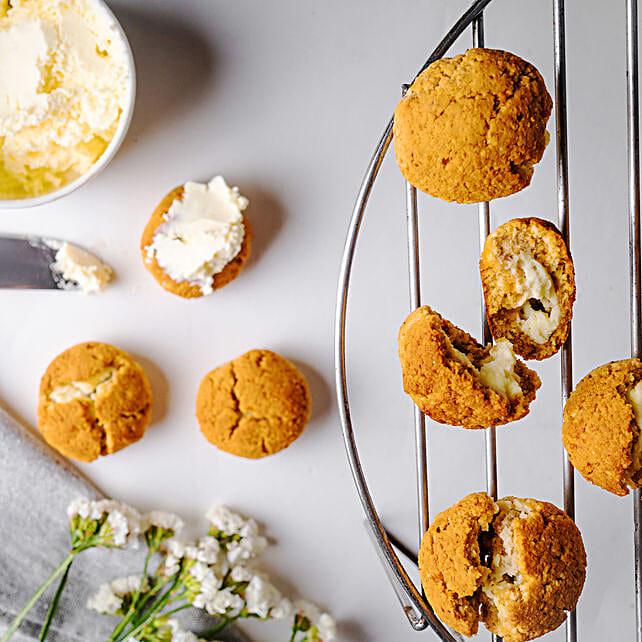 Almond Vanilla Cream FITcookies