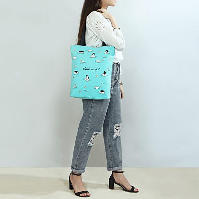 EcoRight Organic Cotton Waddle we do Tote Bag
