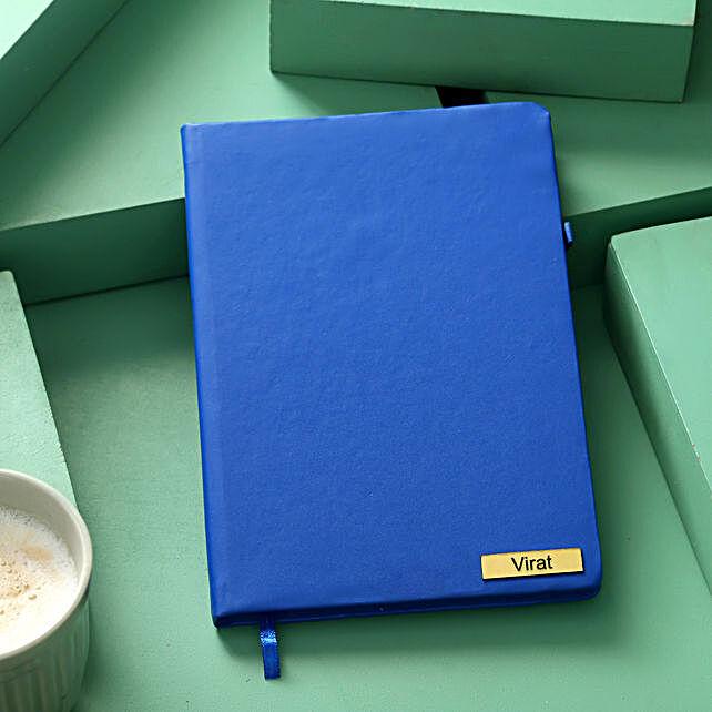 Buy Blue Custom Diary