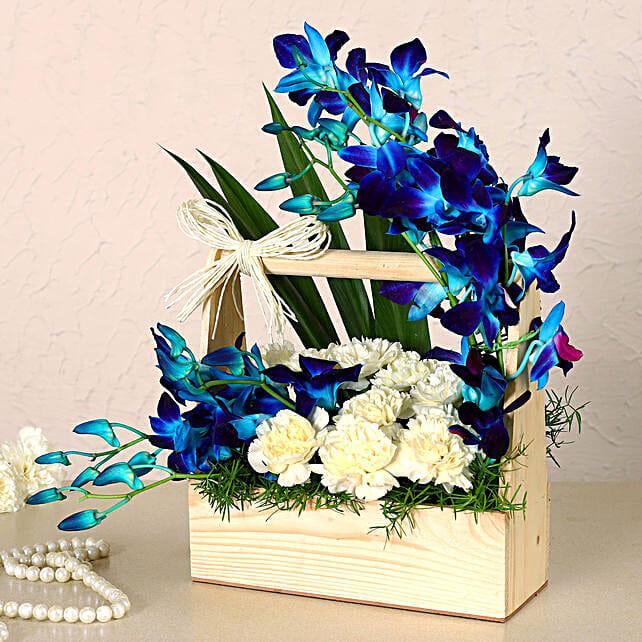 Mesmerising Orchids & Carnations Arrangement