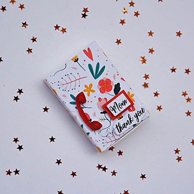 Thank You Mom Magnet Matchbox:Fridge Magnets