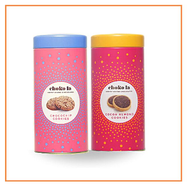 Chokola Almond and Chocochip Cookies Combo