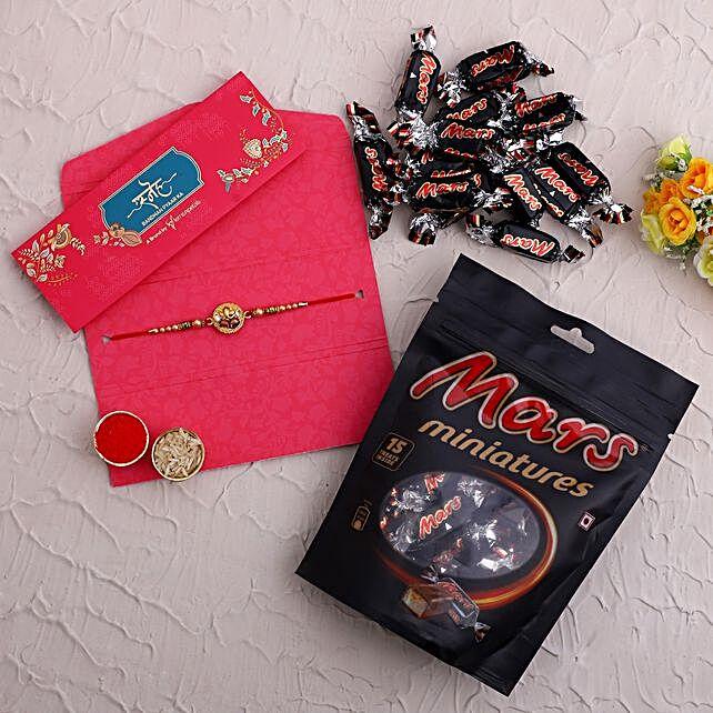 Divine Ganesha Rakhi and Mars Miniatures
