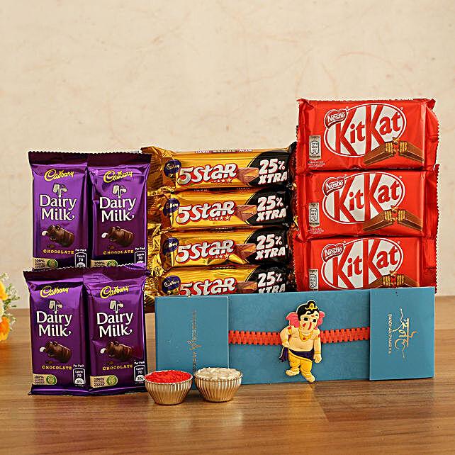 Kids Rakhi Chocolates Combo