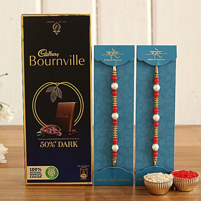 Rakhi and Dark Chocolate Online