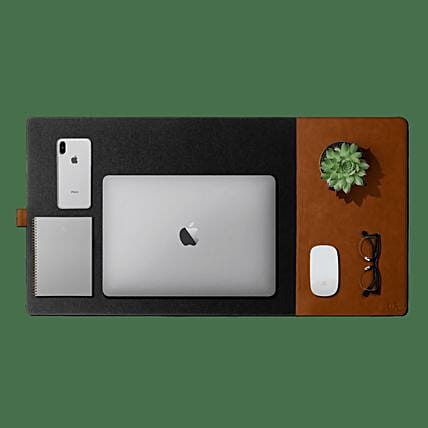 Turf 2.0 Felt Desk Mat Mouse Pad - Grey:Leather Gifts