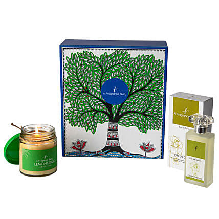Green Orchid EDP & Lemon Grass Candle