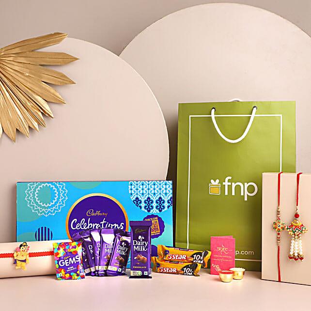 3 Traditional Rakhis and Cadbury Celebrations