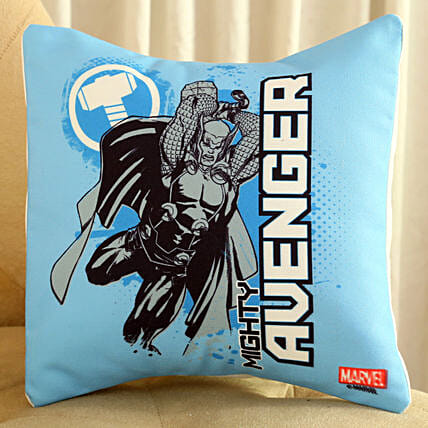 Marvel Mighty Avenger Thor Cushion Hand Delivery