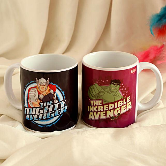 Marvel Thor and Hulk Mug Combo Hand Delivery