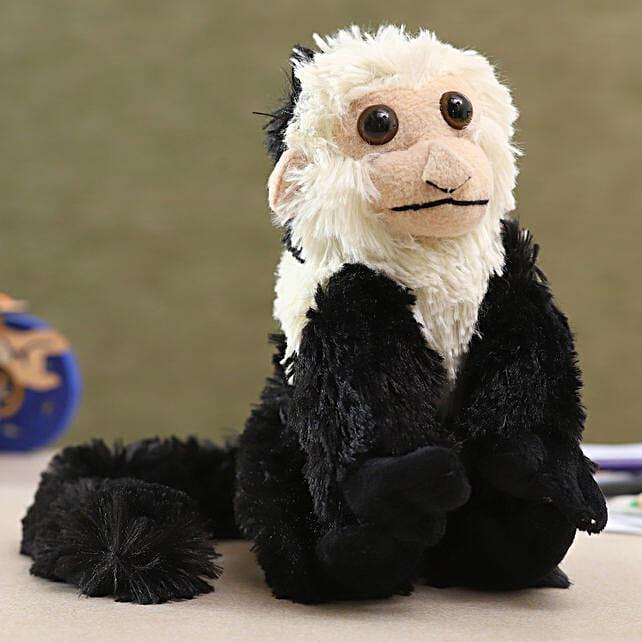 Wild Republic Black Plush Capuchin Soft Toy