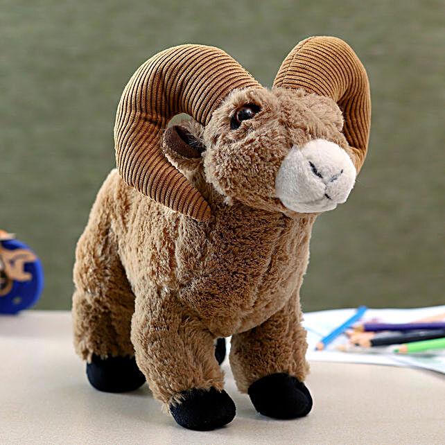 Wild Republic Brown Bighorn Sheep Soft Toy