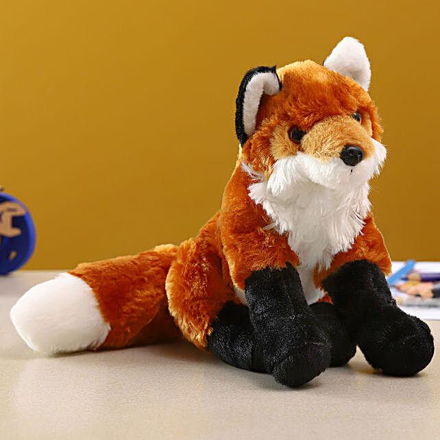 Wild Republic Brown Plush Baby Fox Soft Toy