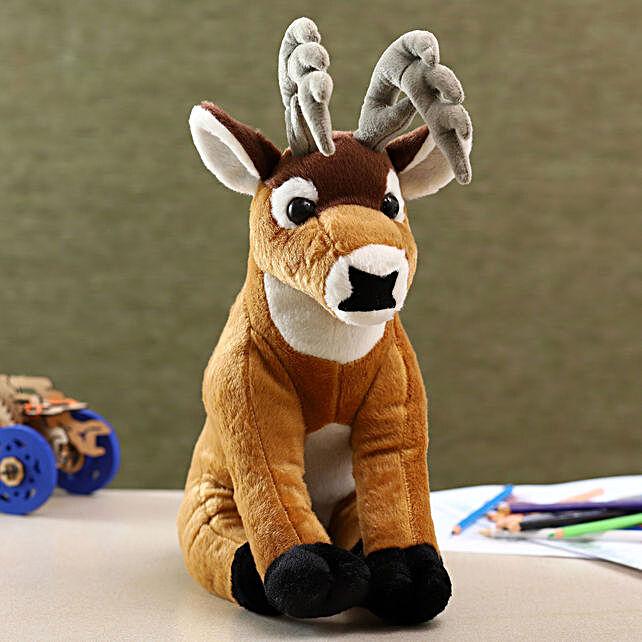 Wild Republic Brown Plush Buck Soft Toy