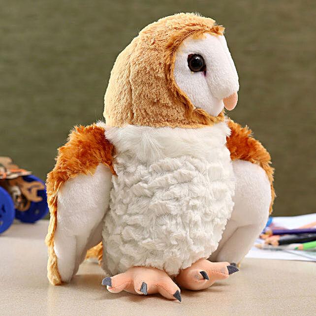 Wild Republic Plush Barn Owl Soft Toy